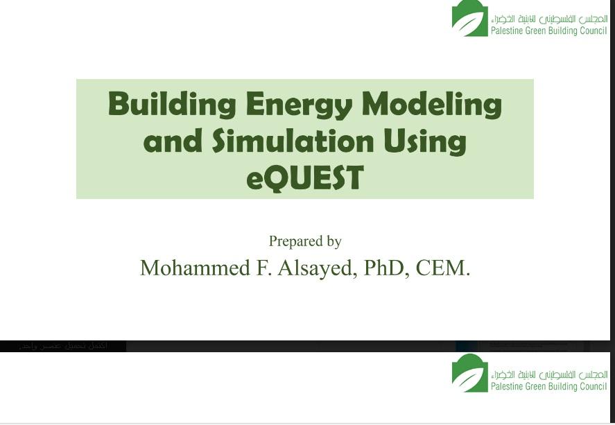 Energy Modeling Presentation